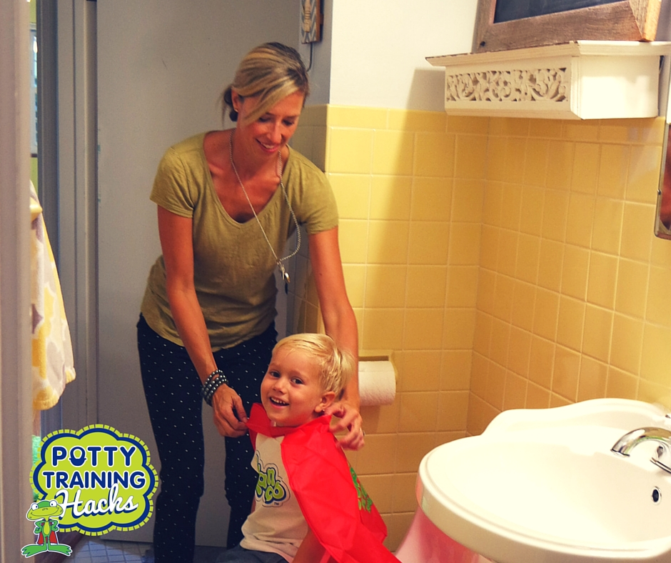 When you're potty training your child, you might find that you're spending a LOT of time in the bathroom. While it's best to give your child lots of attention, support and encouragement while potty training, it's also okay to try to get a few other things done too. Here are just a few ways you can multitask while potty training.