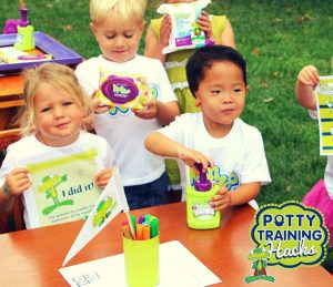 Kids at Potty Training Party