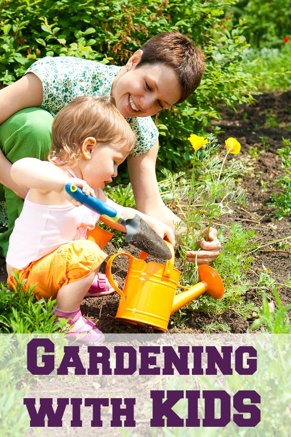 Get your kids involved in your garden this year! From choosing seeds to learning about gardening to decorating your garden and cleaning up afterwards - great ideas for gardening with kids!