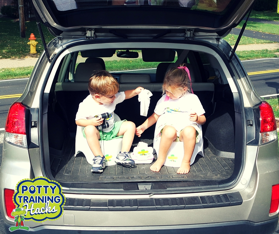 Potty training on the go can feel overwhelming at first, but it's an important part of potty training your children. These potty training tips will help you conquer public bathrooms and toilets with your toddler, walk you through when you should bring diapers and even offer advice for your first potty training road trip.