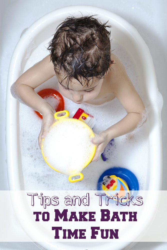 "Kids love to play outside and get dirty, but when it comes to getting clean they might be a little more than stubborn. These tips and tricks will make bath time ""fun time"" and have your kids excited about being fresh and clean."