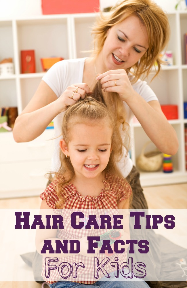 Whether your child has long hair, short hair, curly or straight hair, these basic hair care tips and facts will help keep their manes in tip top shape!