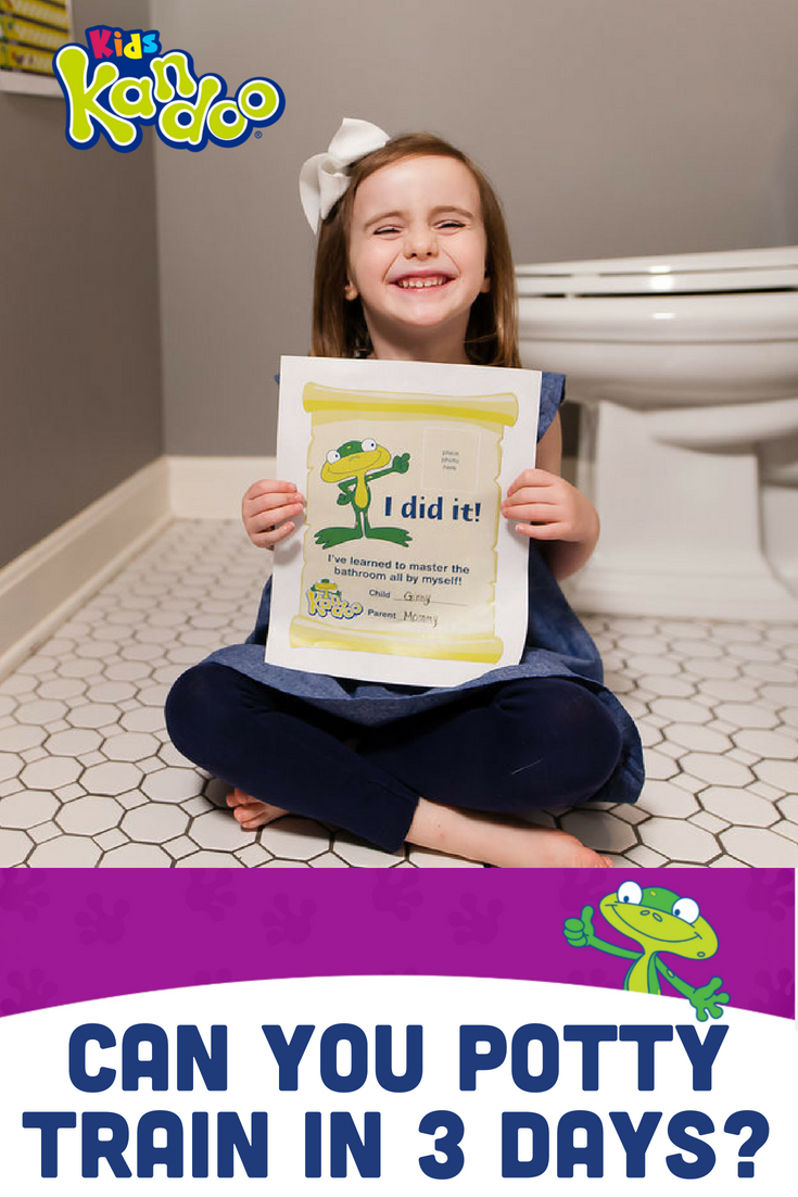 You see it everywhere. The 3-Day Potty Training Program! How to Potty Train your boys, your girls, your toddlers, your DOG in just 3 days. But does it work? Can you really potty train your child in 3 days? The answer isn't as simple as it seems.